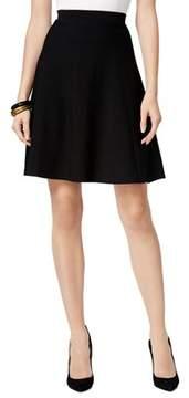 ECI Textured A-line Skirt.