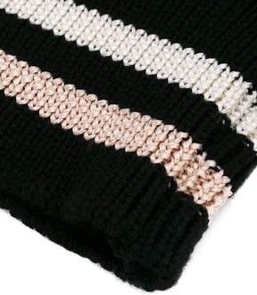 Lanvin striped cuff gloves