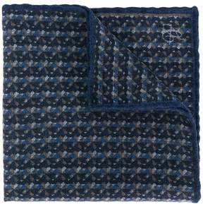 Canali checked scarf