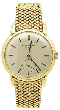 Patek Philippe 746830 18K Yellow Gold with Gold Dial 33mm Mens Watch