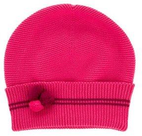 Jacadi Girls' Rib Knit Beanie
