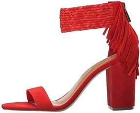 BCBGeneration Women's BG-CALIZI Dress Sandal CANDY RED,10