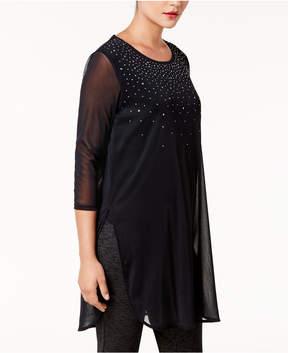 Alfani Embellished Tunic, Created for Macy's