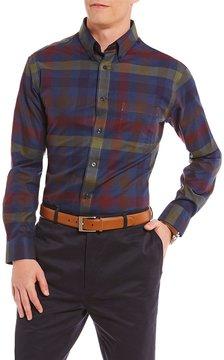 Daniel Cremieux Signature Big & Tall Multi-Check Heather Long-Sleeve Woven Shirt