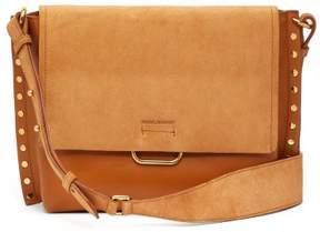 Isabel Marant Asli Studded Leather Shoulder Bag - Womens - Tan