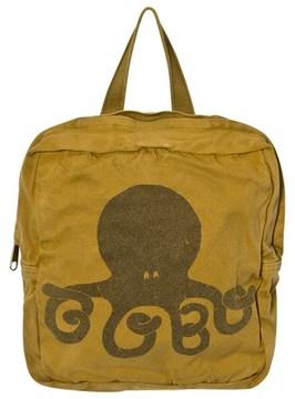 Bobo Choses Mustard Octopus School Bag