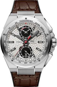 IWC IW378505 ingenieur leather watch