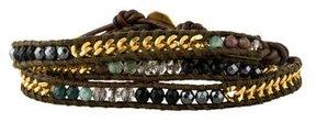 Chan Luu Multistone Chain Wrap Bracelet