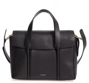 Skagen Beatrix Leather Satchel - Black