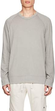 James Perse MEN'S COTTON FRENCH TERRY RAGLAN SWEATER