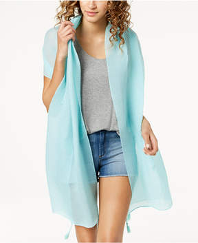 INC International Concepts I.n.c. Tassel Pleated Wrap & Sarong Cover-Up, Created for Macy's