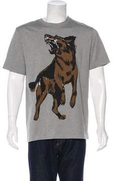 Balenciaga 2017 Wolf Graphic T-Shirt