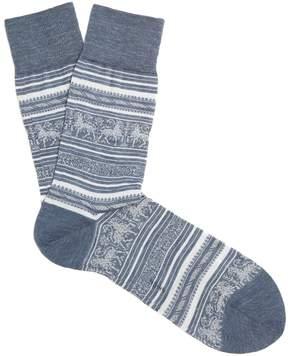 Falke Gryphon cotton-blend socks