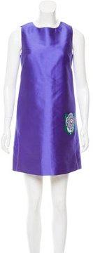 Aquilano Rimondi Aquilano.Rimondi Satin Floral-Accented Dress