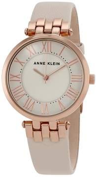 Anne Klein Ivory Dial Ladies Watch