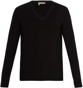 Bottega Veneta V-neck cashmere sweater