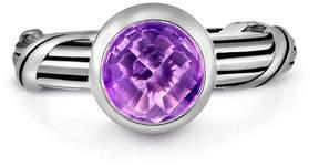 Peter Thomas Roth Fantasies Silver 1.40 Ct. Amethyst Ring