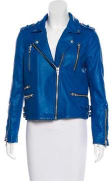 Blank NYC Zip-Up Moto Jacket