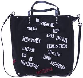 Valentino Patch Shopping Bag