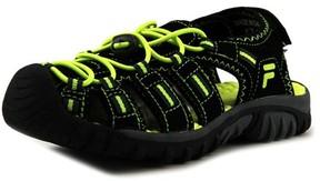 Fila Gripper 4 Youth US 12 Black Sport Sandal