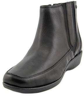 Hush Puppies Sharla Carlisle Women Square Toe Leather Ankle Boot.