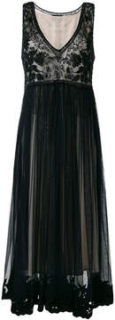 Class Roberto Cavalli embroidered tulle dress