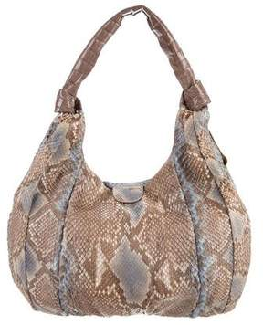 Nancy Gonzalez Snakeskin Hobo