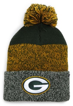 '47 Women's Green Bay Packers Static Cuff Knit Beanie - Green