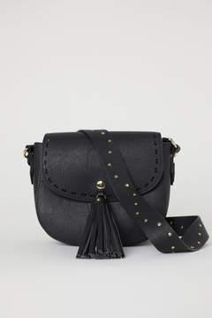 H&M Small Shoulder Bag with Tassel - Black