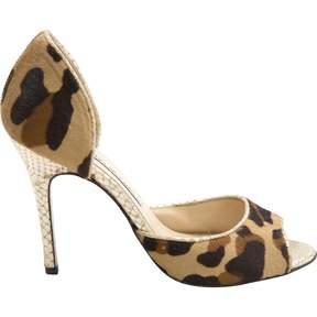 Luciano Padovan Pony-style calfskin heels