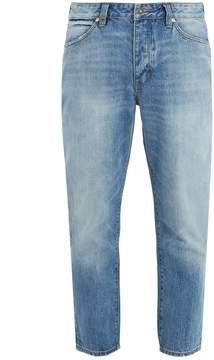 Neuw Boss straight-leg cropped jeans