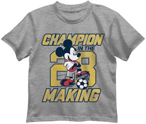 Disney Disney's Mickey Mouse Boys 4-7 Champion In The Making 28 Graphic Tee