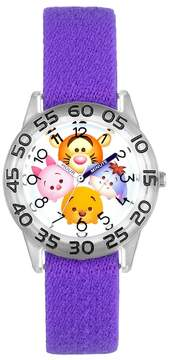 Disney Disney's Tsum Tsum Winnie the Pooh Kids' Reversible Time Teacher Watch