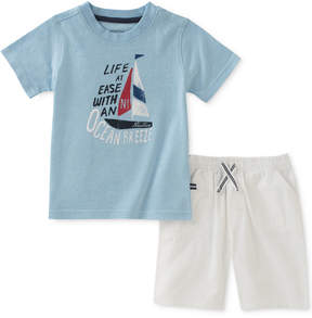 Nautica 2-Pc. Graphic-Print T-Shirt & Shorts Set, Baby Boys