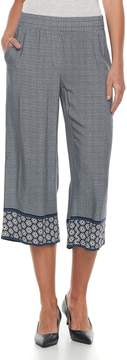 Dana Buchman Women's Print Crop Pants