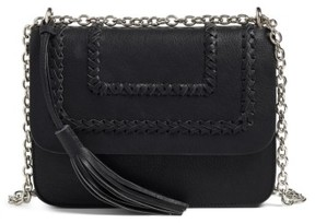 Chelsea28 Chace Faux Leather Shoulder Bag - Black