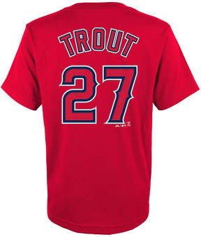 Majestic Mike Trout Los Angeles Angels of Anaheim Player T-Shirt, Big Boys (8-20)