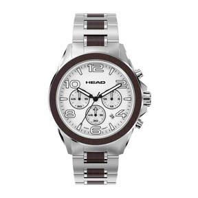 Head Heritage Mens Two Tone Bracelet Watch-He-001-02
