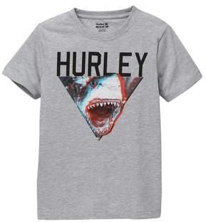 Hurley Open Jaws Tee (Big Boys)