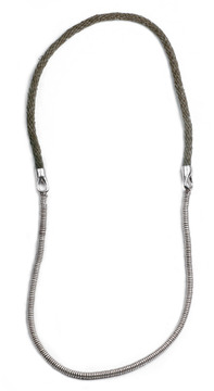 Lulu Frost George Frost G. FROST 50/50 NECKLACE - OLIVE