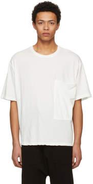 Isabel Benenato Off-White Kimono Cut T-Shirt