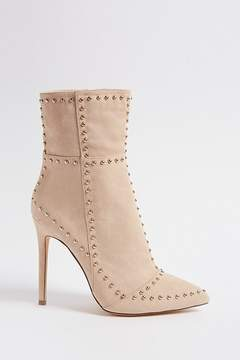 Forever 21 Faux Suede Studded Boots
