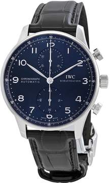 IWC Portugieser Automatic Chronograph Blue Dial Men's Watch