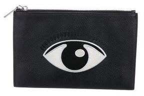 Kenzo Eye Zip Clutch