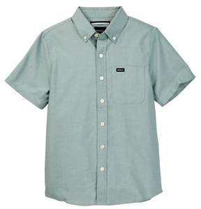 RVCA That'll Do Oxford Short Sleeve Shirt (Big Boys)