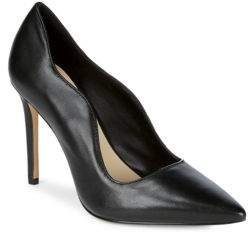 Saks Fifth Avenue Karlie Leather High Heel Pumps