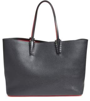 Christian Louboutin Cabata Calfskin Leather Tote - Black