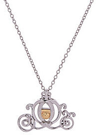 Disney Sterling Silver & 10K Gold Accent Motif Necklace