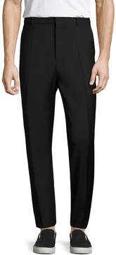 BLK DNM Men's Solid Wool Trousers