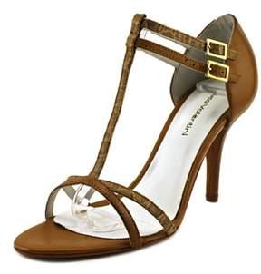 Luca Valentini 904 Open Toe Leather Sandals.